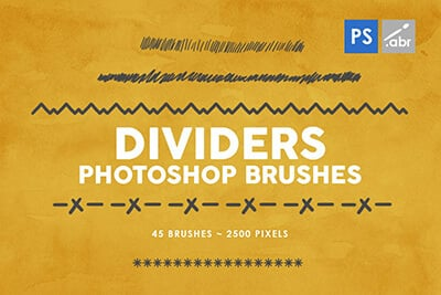 Dividers PS Brushes