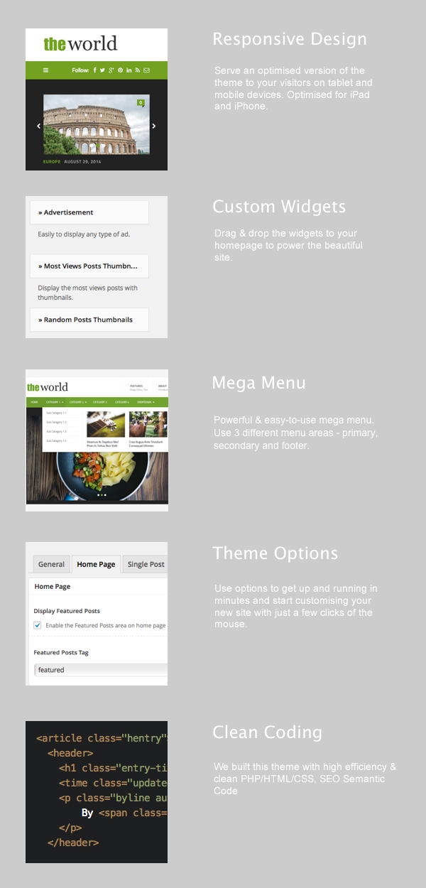 theWorld WordPress Theme