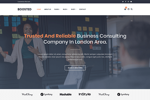 Boosted WordPress Theme