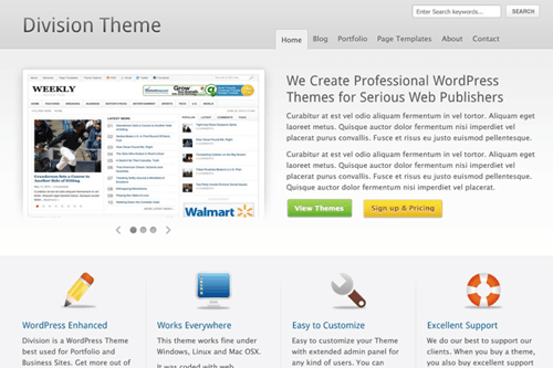 Division WordPress Theme