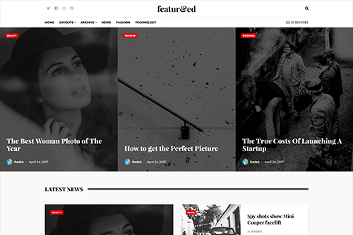Featured WordPress Theme Screenshot