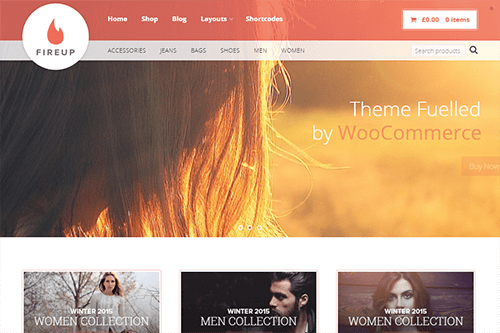 FireUp WordPress Theme Screenshot