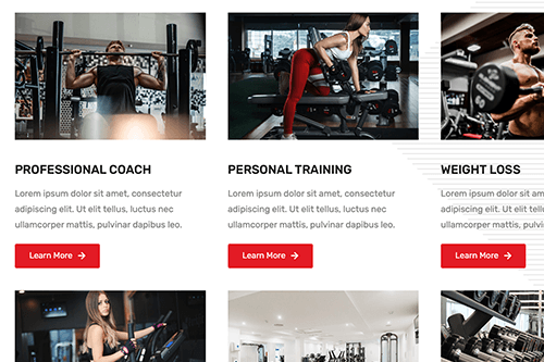 Drag & Drop Your Own Gym Site