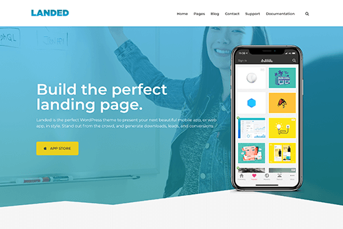 Landed WordPress Theme