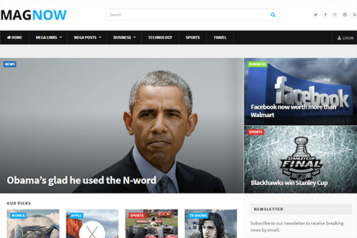 MagNow WordPress Theme Screenshot
