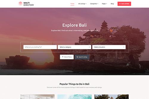 MultiDirectory WordPress Theme