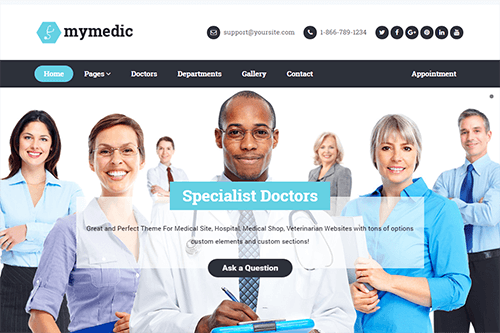 MyMedic WordPress Theme