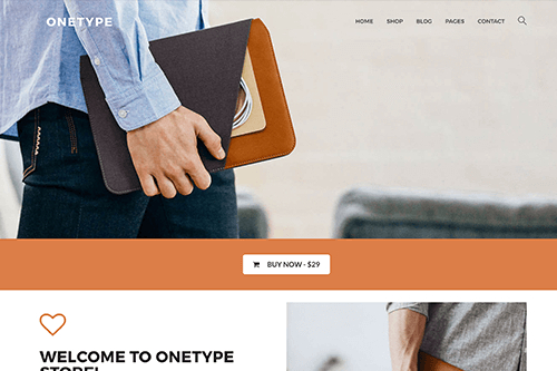 OneType WordPress Theme