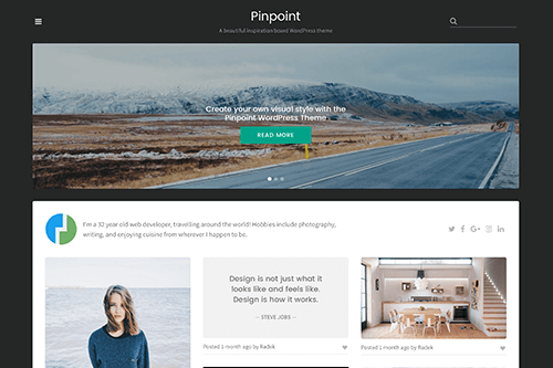 Pinpoint WordPress Theme Screenshot