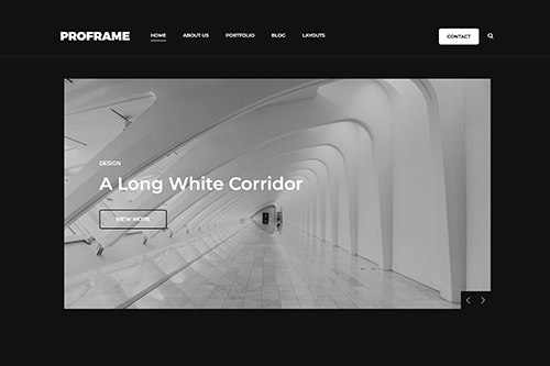 ProFrame WordPress Theme Screenshot