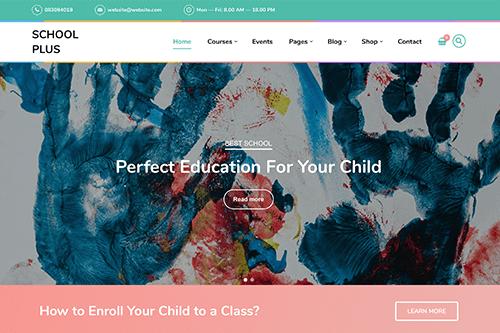 SchoolPlus WordPress Theme