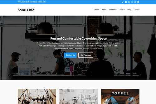 Smallbiz WordPress Theme Screenshot
