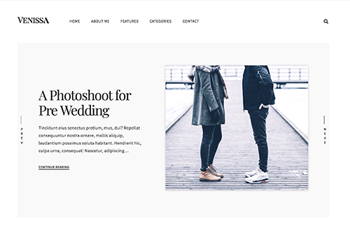 Venissa WordPress Theme