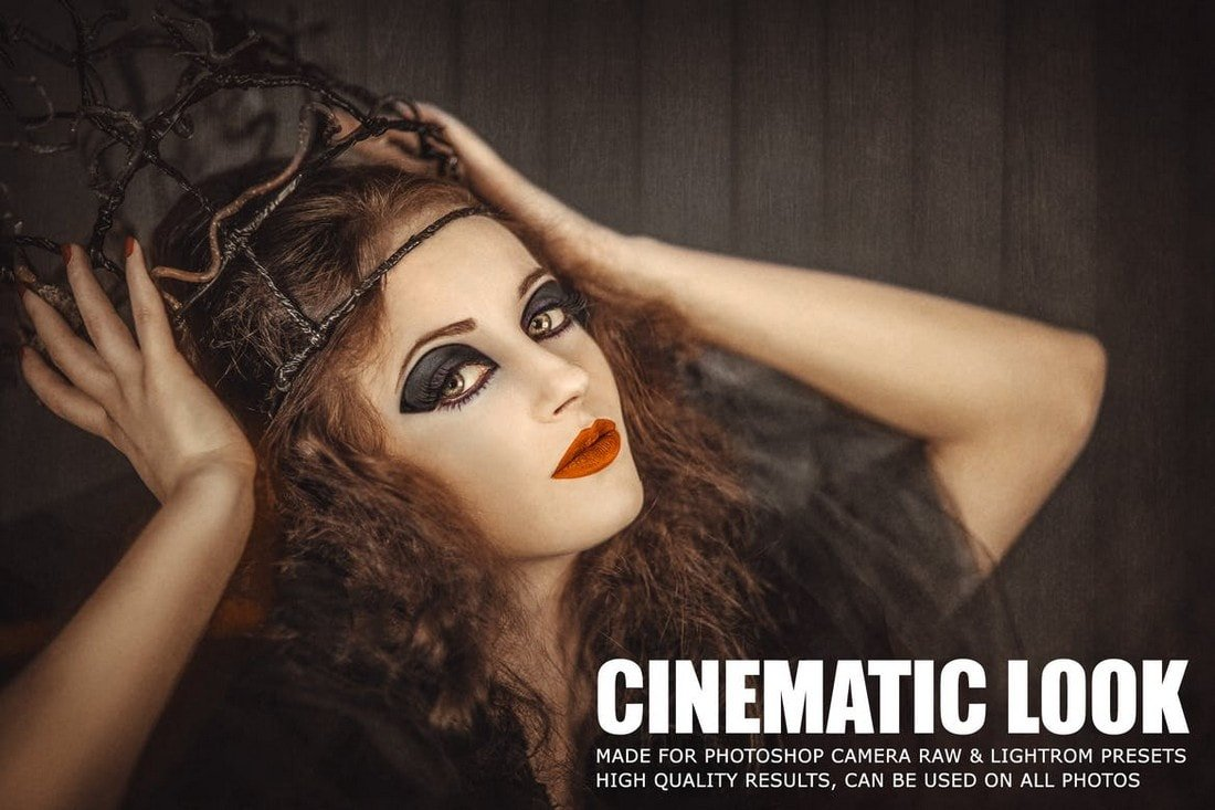 10 Film Look Cinematic Lightroom Presets
