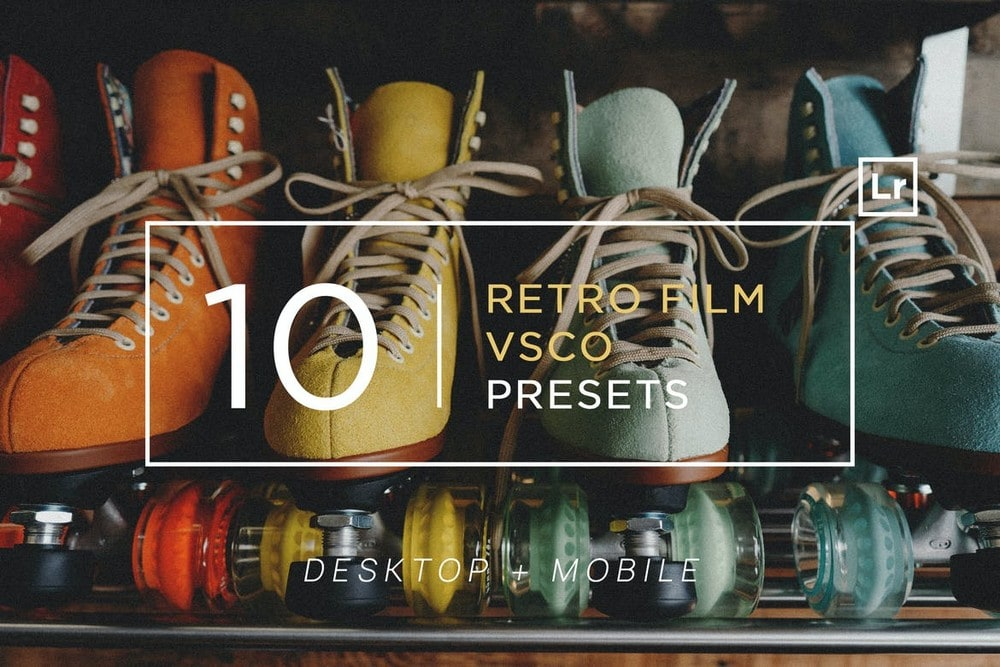 10 Retro Film VSCO Lightroom Presets