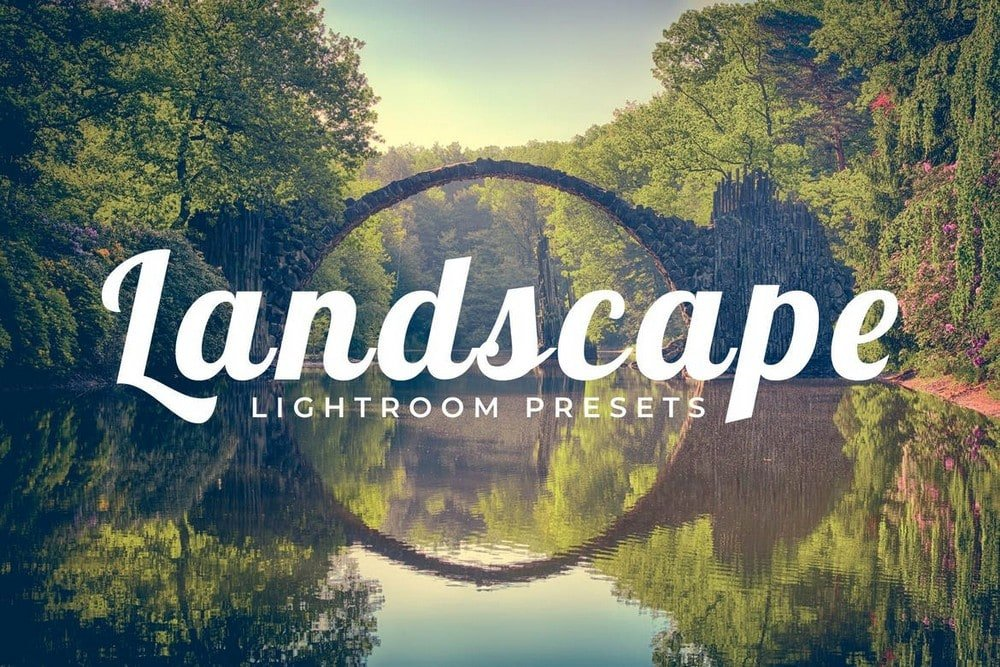 100 Landscape Lightroom Presets Pack