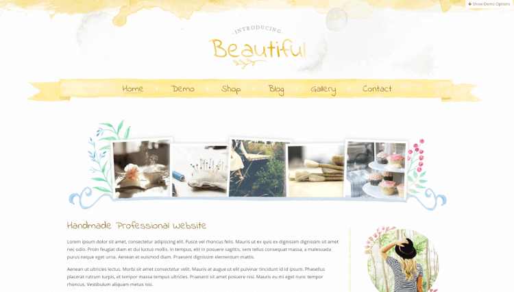 Beautiful - Artistic Elementor WordPress Theme