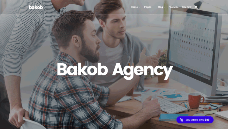 Bakob - Multi-Purpose Elementor WordPress Theme
