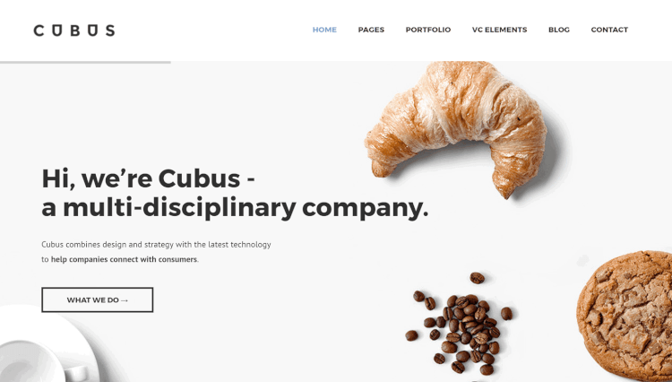 Cubus - Responsive Business WordPress Theme