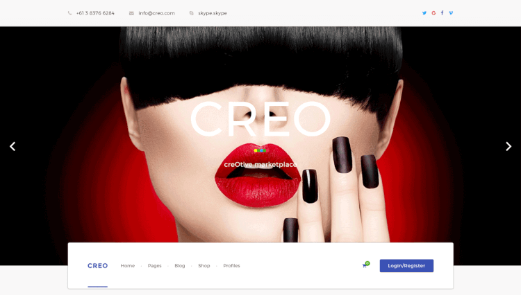 Creo - Marketplace Deals and Coupon Site WordPress Theme