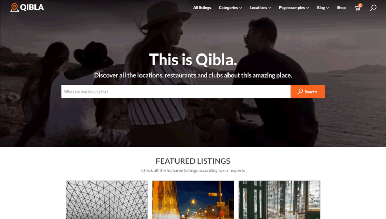 Qibla - Airbnb-Style Classified and Directory WordPress Theme