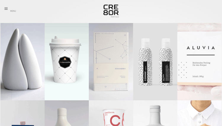 Cre8or - Minimal Portfolio Dribbble WordPress Theme