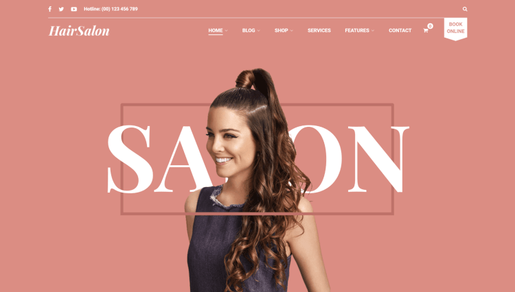 Hair Salon WP - Flexible Hair Salon WordPress Theme