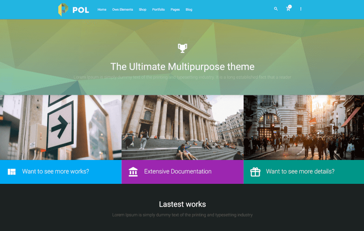 POL - Material Multi-Purpose WordPress Theme
