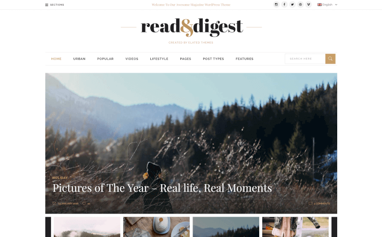 Read & Digest - For Magazines, Newspapers & Blogs