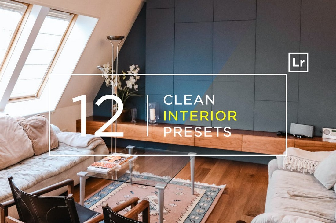 12 Clean Interior Lightroom Presets