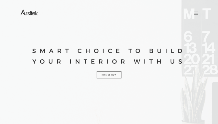 Arsitek - Interior Designer WordPress Theme
