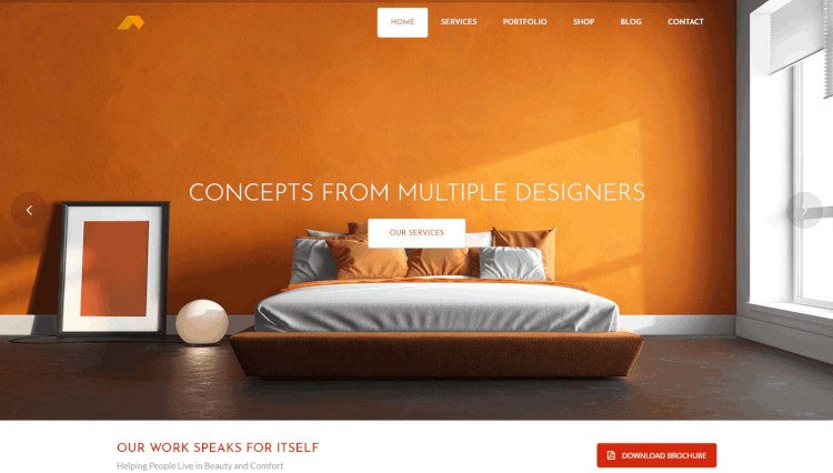 Apex - Multi-Purpose Interior Design WordPress Theme