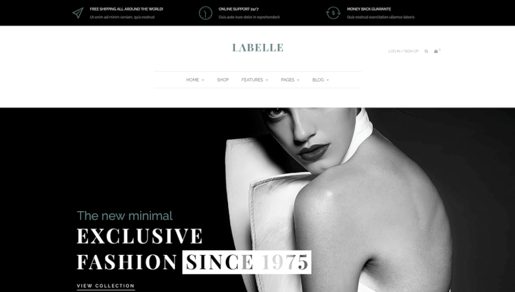 Labelle - Mega Menu WooCommerce and Blogging WordPress Theme