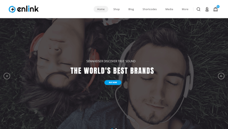 Enlink - Single Product WooCommerce WordPress Theme