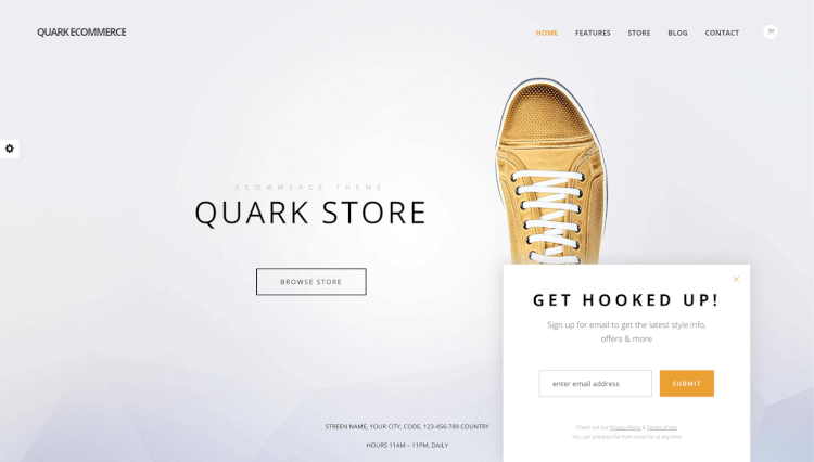 Quark - Single Product WooCommerce WordPress Theme