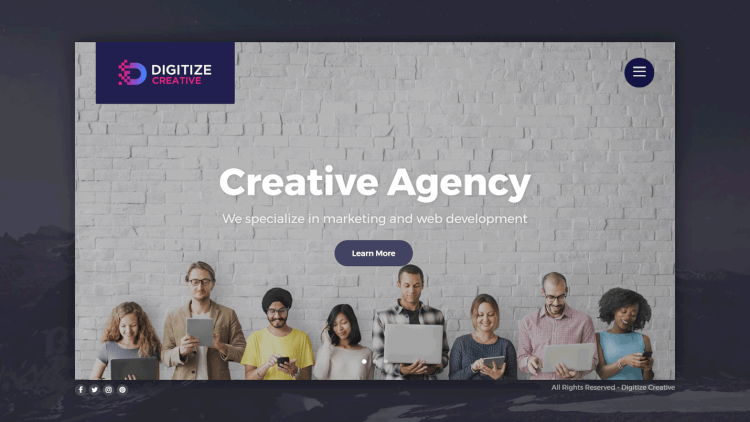Digitize - Creative Multi-Concept Elementor WordPress Theme