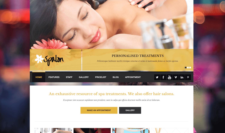 Spalon - ตอบสนองธีม WordPress