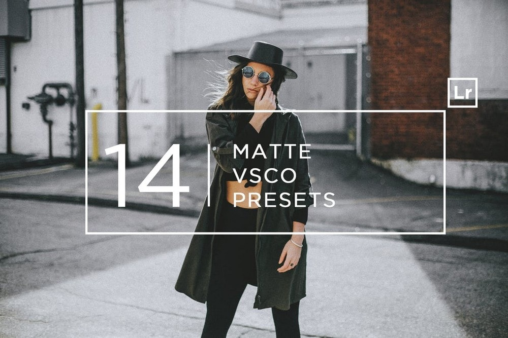 14 Matte + VSCO Lightroom Presets