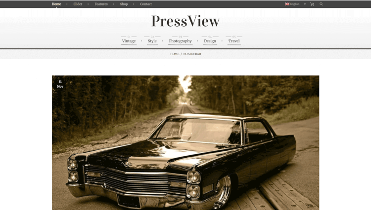 30+ Best Vintage WordPress Themes 2018 - Theme Junkie