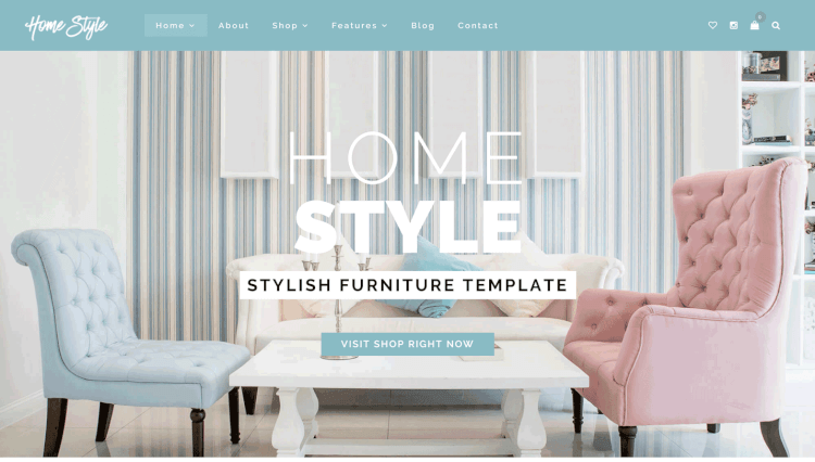 Homestyle   Online Furniture Store WordPress Theme