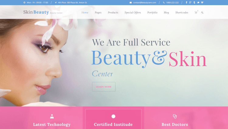 17+ Best Spa WordPress Themes 2017 - Theme Junkie