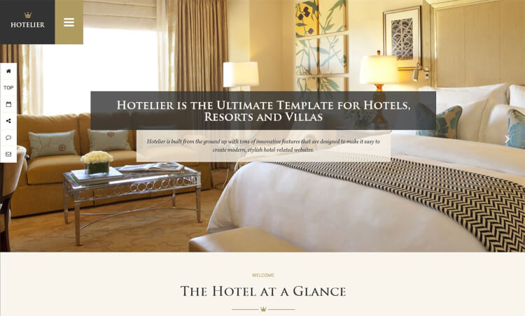 Hotelier - Hotel & Travel Booking Theme