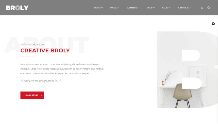 Broly - Multi-Concept Video Background WordPress Theme