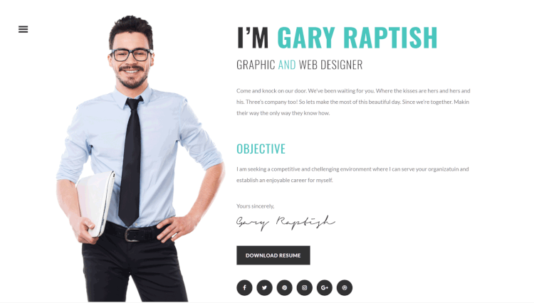 25 Best CV and Resume WordPress Themes 2018 Theme Junkie