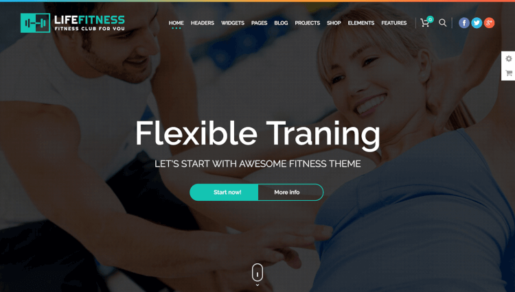 Life Fitness - Sports and Gym WordPress Theme