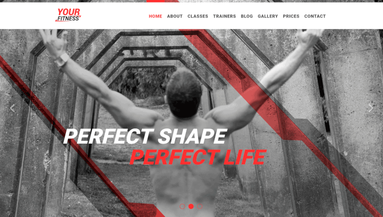 YourFitness - Personal Trainer and Gym WordPress Theme