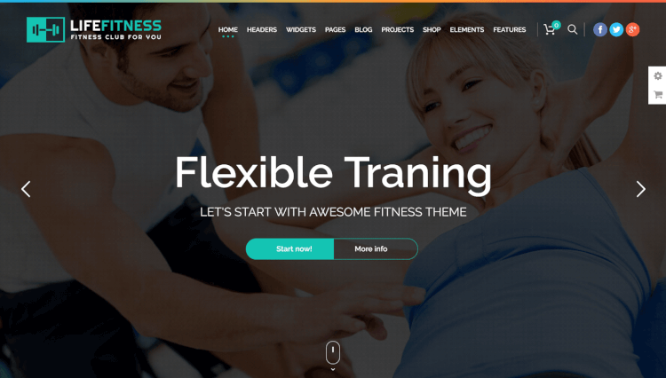 Life Fitness - Gym and Sport Paid Membership and Subscription WordPress Theme