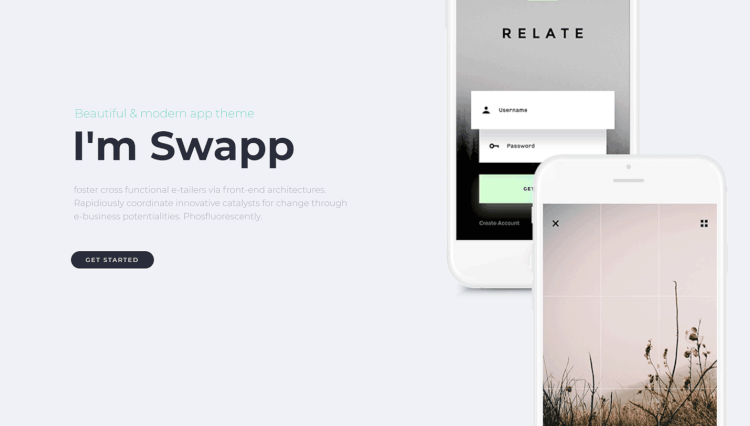 Swape - App Showcase and Single Product WordPress and WooCommerce Theme