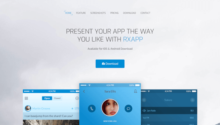 RxApps - App and Single Product WordPress and WooCommerce Theme