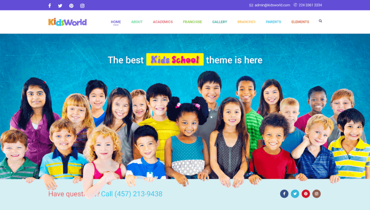 Kids Heaven - Flexible WordPress Theme for Kids and Children